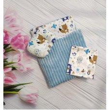 Комплект в коляску 3 предмета  (несколько расцветок)